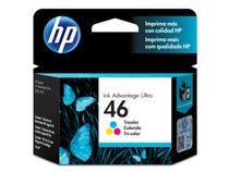 Cartucho de tinta ink advantage hp suprimentos cz638al hp 46 tricolor 16 ml - Marca