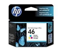Cartucho de Tinta INK Advantage HP Suprimentos HP 46 Tricolor 16 ML CZ638AL