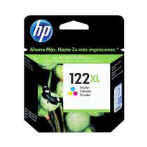 Cartucho de Tinta Original Colorido 122XL CH564HB HP -