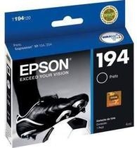 Cartucho epson 194 t194 jato xp204 xp214 xp104 preto 4ml - original -