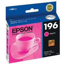Cartucho epson 196 t196 jato x401 xp2512 magenta 3ml - original -