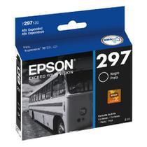 Cartucho Epson (297) T297120 - preto 300 páginas - serie XP-231/XP-431 -