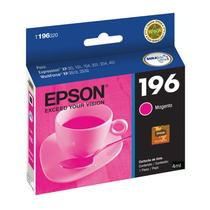 Cartucho Epson T196320 196 Magenta 4ml