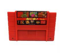 Cartucho Fita Super Snes 110 Em 1 Multi-jogos Street Fighter Mortal Kombat Killer Instinct Super Mario World - Giftt