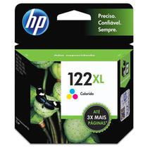 Cartucho HP 122 XL Colorido Original (CH564HB) 15488 -