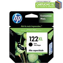 Cartucho HP 122XL preto CH563HB HP CX 1 UN