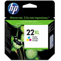 Cartucho HP (22XL) C9352CB - cores 17ml - serie D1560/F2280/F4180/5610