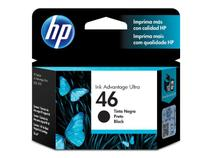 Cartucho HP 46 Preto CZ637AL 26 ML - Hp suprimentos