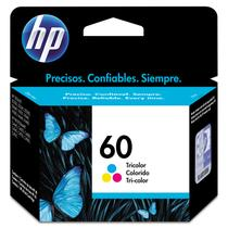 Cartucho HP (60) CC643WB - cores 6ml - serie 2530