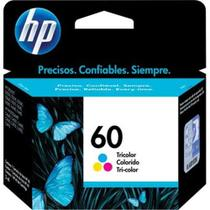 Cartucho HP 60 Jato de Tinta Tricolor 6,5ML - CC643WB