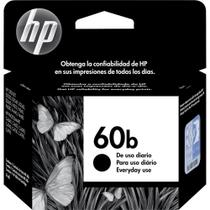Cartucho HP 60B Preto Everyday 4ml CC636WB