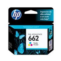 Cartucho HP 662 Colorido Original (CZ104AB) Para HP DeskJet 2516, 3516, 3546, 2546, 1516, 4646, 2646 -