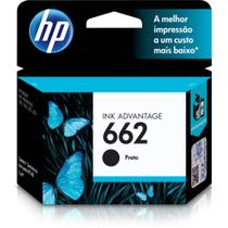 Cartucho hp 662 preto original