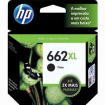 Cartucho HP 662 XL Preto 6,5 ML - CZ105AB