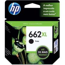 Cartucho hp 662 xl preto original - cz105ab
