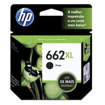 Cartucho HP (662XL) CZ105AB - preto 6,5ml - serie 2515/2516/3515/3516