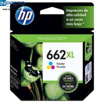 Cartucho hp 662xl (cz106ab) color original