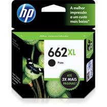 Cartucho hp 662xl preto 6.5ml - cz105ab