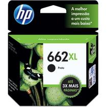 Cartucho HP 662XL preto CZ105AB HP CX 1 UN - Original