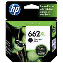 Cartucho HP 662XL Preto Original (CZ105AB)
