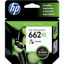 Cartucho Hp 662xl Tricolor