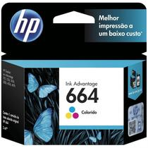 Cartucho HP 664 2 ml F6V28AB Tricolor 1115/2136/3636/3836/4536/4676