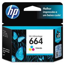 Cartucho HP 664 Colorido Original (F6V28AB) 22333 -