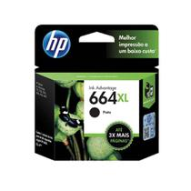 Cartucho Hp 664xl F6v31ab Preto 8,5ml