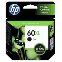 CARTUCHO HP CC641WB Nº 60 XL PRETO 13,5ML  HP