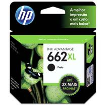 CARTUCHO HP CZ105AB Nº 662 XL PRETO 6,5ML  HP -