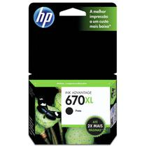 CARTUCHO HP CZ117AB Nº 670 XL PRETO 14ML  HP -