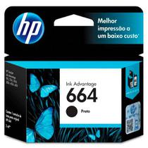 CARTUCHO HP F6V29AB Nº 664 PRETO 2ML  HP