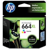 CARTUCHO HP F6V30AB Nº 664 XL COLORIDO 8ML  HP -