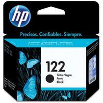 Cartucho HP Original (122) CH561HB - preto rendimento 120 páginas -