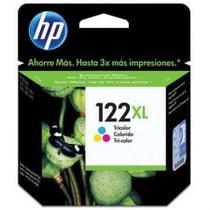 Cartucho HP Original (122XL) CH564HB - cores rendimento 330 páginas -