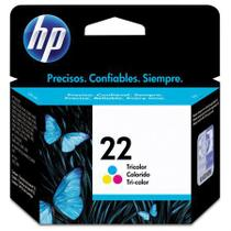 Cartucho HP Original (22) C9352AB - cores rendimento 170 páginas -
