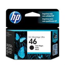 Cartucho HP Original (46) CZ637AL - preto rendimento 1.500 páginas -