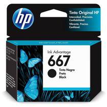 Cartucho HP Original (667) 3YM79AL - preto rendimento 120 páginas -
