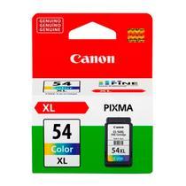 Cartucho Original Canon 54XL Colorido CL-54XL CL54XL CL54 12,6 ml Cor Pixma E201 E301 E3110 E3111 E3310 E401 E461 E471 E481 E4210 -