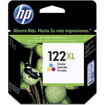 Cartucho Original HP  122XL Color CH564HB - 1000 / 2000 / 2050 / 3050 -