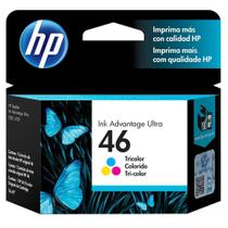 Cartucho Original HP  46 CZ638AL Color Ultra Ink -