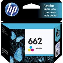 Cartucho Original HP  662 Color Ink Advantage CZ104AB - 3546 / 1516 / 2546 / 2646 / 4646