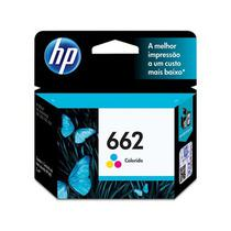Cartucho Original HP 662 Colorido Cz104ab HP Deskjet 1015 2516 2546 3516 3546 4645 2510 2540 2ml
