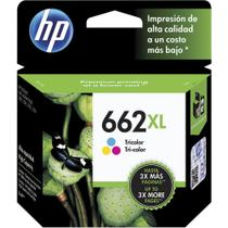 Cartucho Original HP  662 XL Color CZ106AB - 3546 / 1516 / 2546 / 2646 / 4646
