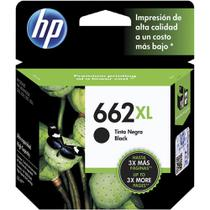 Cartucho Original HP  662 XL Preto CZ105AB - 3546 / 1516 / 2546 / 2646 / 4646