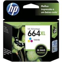 Cartucho Original HP 664XL colorido F6V30AB HP Deskjet 2136, 2676 664 xl -