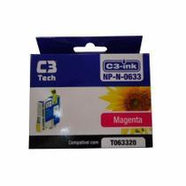 Cartucho Para Epson Magenta 11Ml Np-N-0633 C3 Tech -