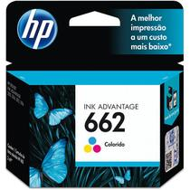 Cartuchos Originais Hp 662 Colorido Ink Advantage Hp