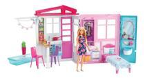 Casa completamente mobilada da Barbie 60+cm FXG55 -