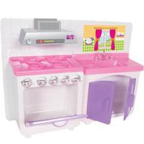 Casa Cristal Fogao - Lua de Cristal - Casinha de bonecas para barbie. -